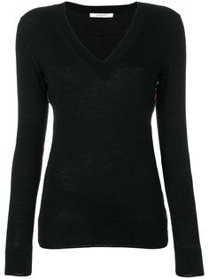 свитер с цветочными вставками  Givenchy