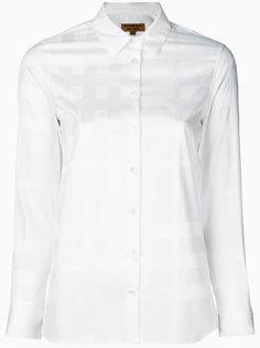 рубашка с рисунком в тон Burberry