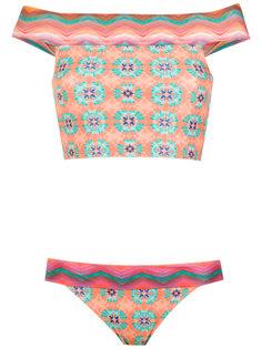 cropped top bikini set Brigitte