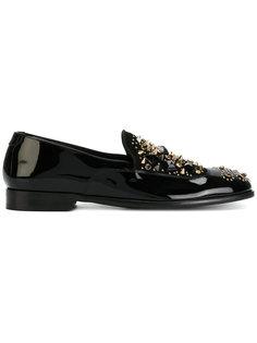 слиперы с заклепками Dolce & Gabbana