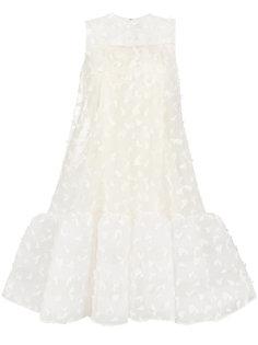 платье с отделкой перьями Huishan Zhang