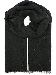 шарф с пайетками Brunello Cucinelli