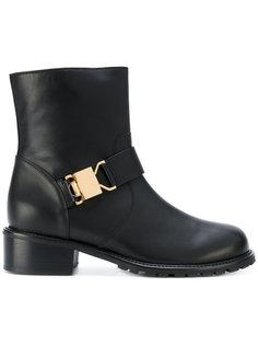 ботинки с застежкой на пряжку Giuseppe Zanotti Design