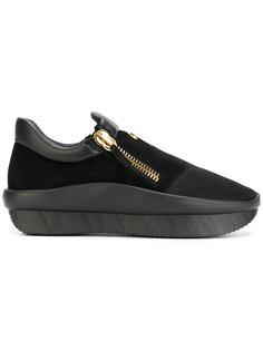 кроссовки на платформе Giuseppe Zanotti Design