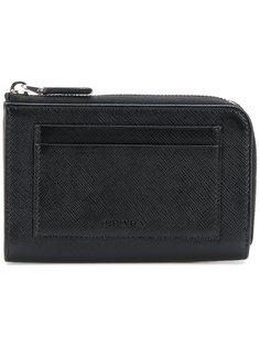 кошелек-кредитница на молнии Prada