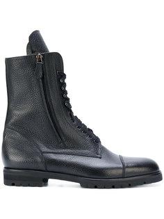 ботинки Campcho в стиле милитари  Manolo Blahnik
