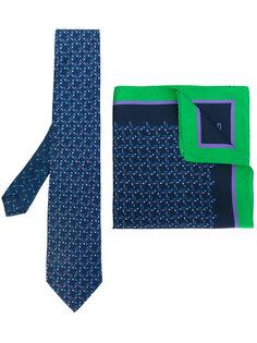 комплект из галстука и платка с узором Etro