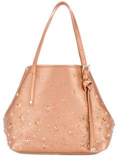 сумка-тоут Sasha с заклепками в форме звезд Jimmy Choo