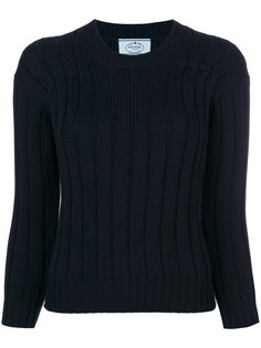 классический приталенный свитер Prada