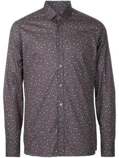 рубашка с принтом Lanvin