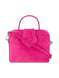 маленькая квадратная сумка через плечо Mehry Mu