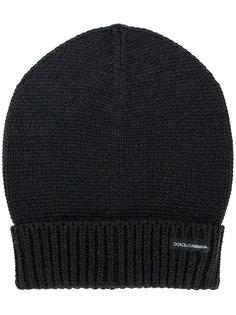 шапка в рубчик Dolce & Gabbana