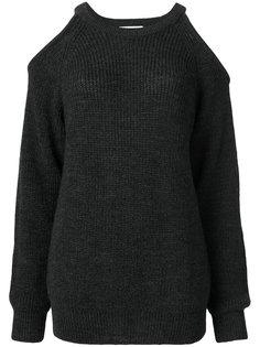 свитер с ребристой фактурой с вырезами на плечах Iro