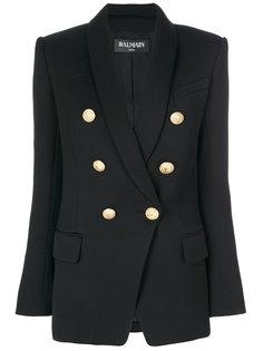 пиджак с декоративными пуговицами Balmain