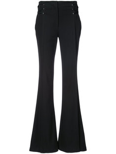 слегка расклешенные брюки со шнуровкой Jason Wu
