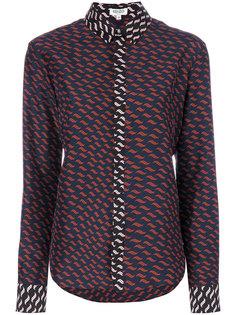 рубашка с мелким узором Kenzo