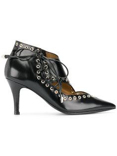 туфли-лодочки на шнуровке Toga Pulla