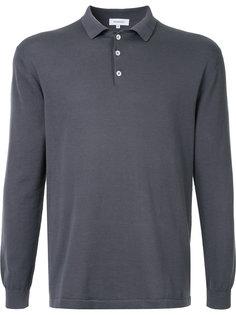 трикотажная рубашка-поло с длинным рукавами Venroy