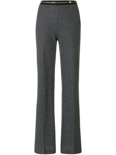 panelled flared trousers Cavalli Class