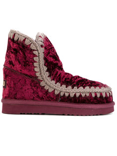бархатные ботинки Eskimo Mou