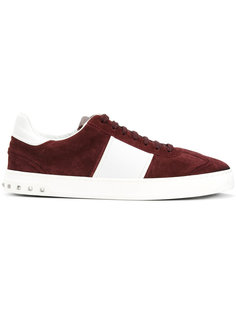 кроссовки на шнуровке Valentino