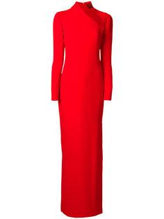 вечернее платье с вырезной деталью Tom Ford