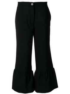 укороченные расклешенные брюки Erika Cavallini