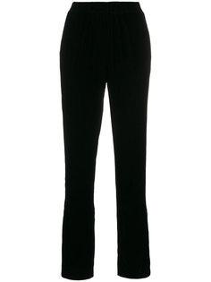 бархатные брюки с белой отделкой Designers Remix