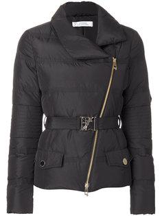 дутая куртка с ремнем Versace Collection