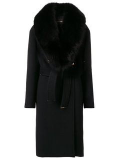 шерстяное пальто  Roberto Cavalli