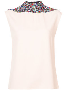 Beaded Halter Top Derek Lam