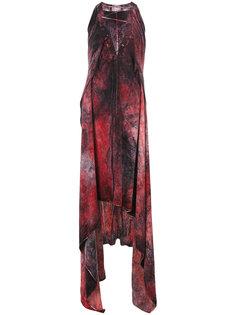 длинное платье со шнуровкой Lost & Found Ria Dunn
