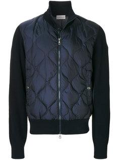стеганая куртка-бомбер Moncler