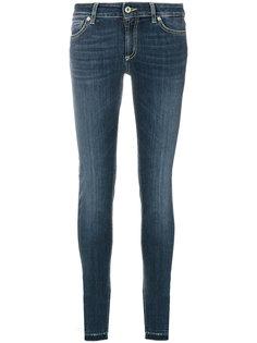 эластичные джинсы скинни Tara Dondup