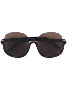солнцезащитные очки дизайна с открытым верхом Delirious