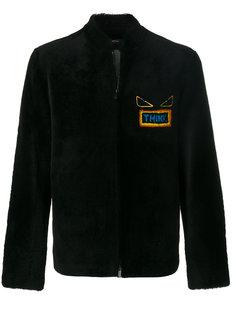 куртка-бомбер  Think  Fendi
