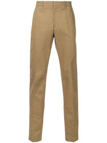 брюки-чинос прямого кроя Kent & Curwen