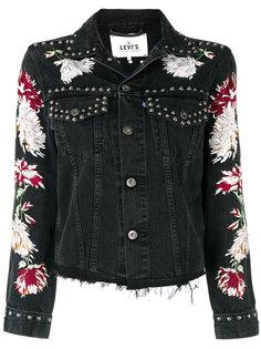 джинсовая куртка с вышивкой Levis: Made & Crafted