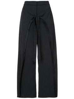 cropped pinstripe trousers Yigal Azrouel