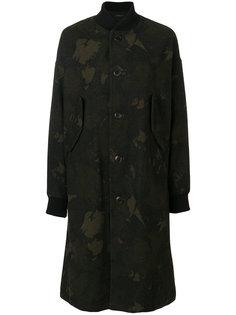 длинная камуфляжная куртка-бомбер  Ys Y`s
