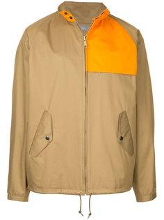 куртка с контрастными панелями Kolor