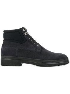 ботинки на шнуровке Fabi