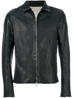 куртка узкого кроя из кожи A Diciannoveventitre