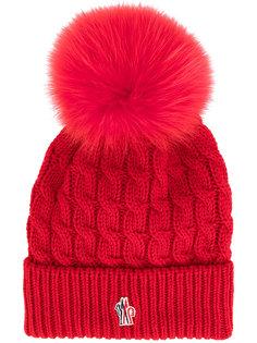 трикотажная шапка с помпоном Moncler