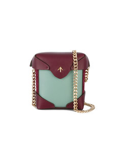 микро сумка на плечо Pristine Manu Atelier
