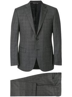 классический клетчатый костюм Canali