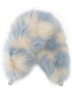 ремень для сумки с лисьим мехом Miu Miu