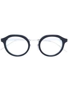 очки в круглой оправе Dior Eyewear