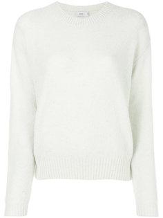 пуловер с отделкой в рубчик Closed