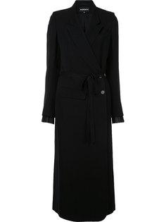 удлиненное пальто Ann Demeulemeester